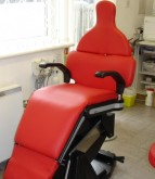 Re-upholstered Dentist chair