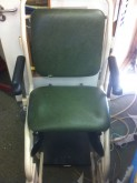 Patient transfer chair before