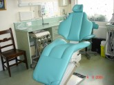 Dental chair previously black